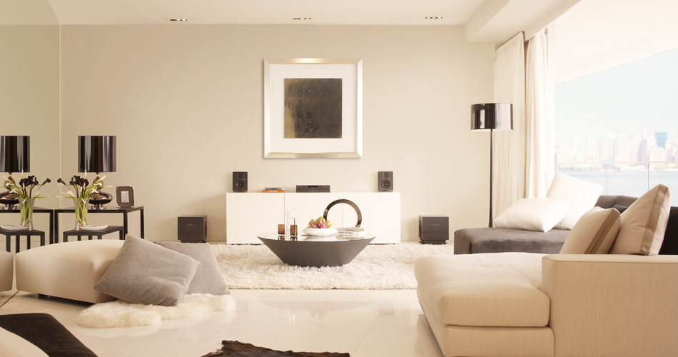 modern house home cinema - contemporary interiors