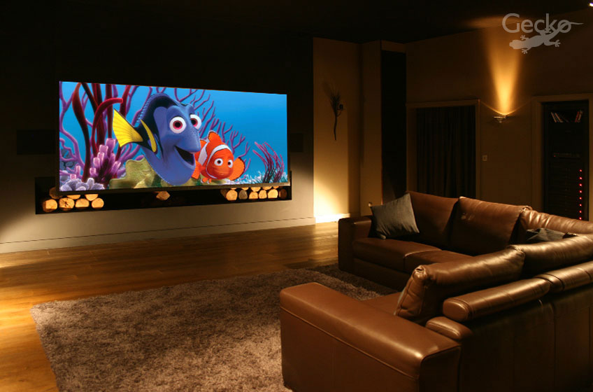 Cinema Room 3 | Multimedia Lounge | The Steinway Lyngdorf Model M 7.6 System with 15 Foot 4k Projector