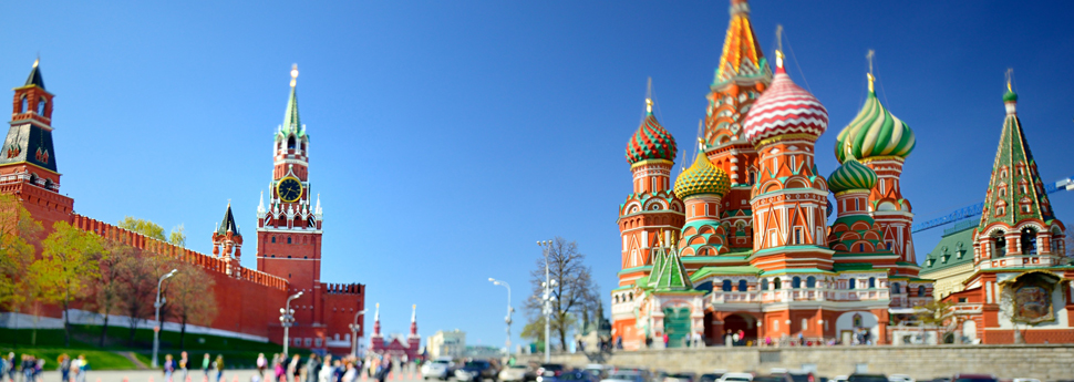 St. Basil's Cathedral and Spasskaya Tower