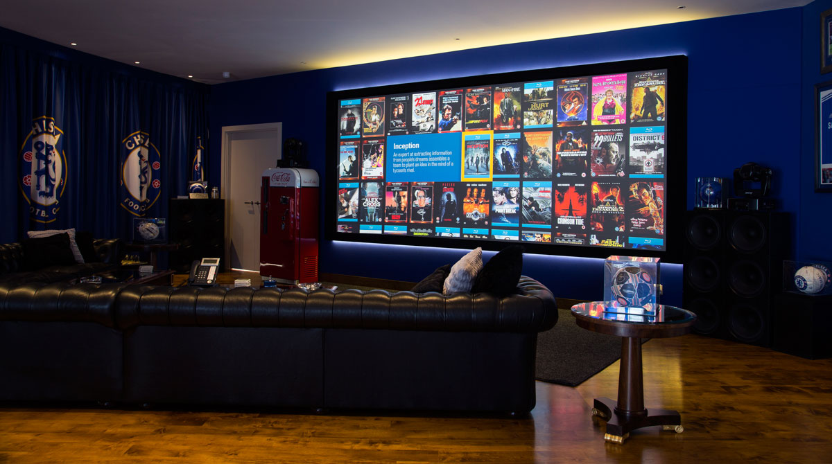 A Shrine To The Beautiful Game Gecko Home Cinema