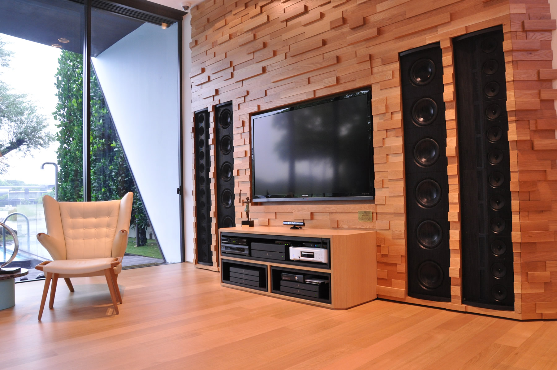 Ultimate In-wall audio system