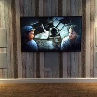 In-wall loudspeaker system